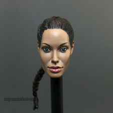 1/6 Scale Tomb Raider Lara Headplay Angelina Jolie Head Sculpt