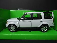 Welly Land Rover Discovery 4 White 1/24