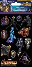 4 Sheet Marvel Avengers Infinity War Stickers Party Favors Ironman Black Panther