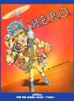 HERO - Atari 2600 (Complete & Good Condition) PAL