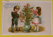 Detroit Soap Company's Queen Anne Soaps – Decorating A Christmas Tree 1880s SEE!
