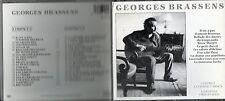 COFFRET 2CD 36T GEORGES BRASSENS  /LES LILAS/MARQUISE/LES DEUX ONCLES...TBE