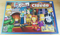 Cluedo The Simpsons Board Game Parker 2005 (incomplete, missing 2 x weapons)