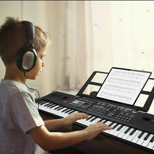 More details for 61 key electric digital piano musical beginner electronic keyboard instrument uk