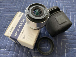 Sigma 19mm f/2.8 DN A (Art) AF Lens for Micro 4/3 System, Black {46} - Excellent