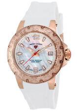 Swiss Legend Ultrasonic Ladies Watch 14098SM-RG-02-WHT