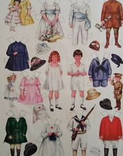 1918 Betty Bonnet Vintage Uncut Paper Doll Goes to a Wedding Page & Flower Girl