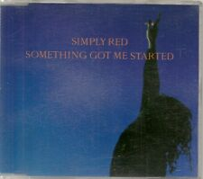 MAXI CD 4 TITRES--SIMPLY RED--SOMETHING GOT ME STARTED--1991