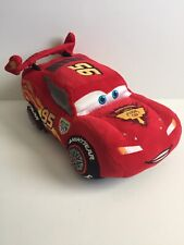 CARS LIGHTING MCQUEEN Disney Store Pixar Plush Stuffed Toy Car
