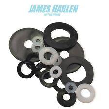 nylon 66 form a plastic flat washers m3/m4/m5/m6/m8/m10/m12 black or natural mm