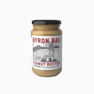 Byron Bay Peanut Butter - Crunchy with No Added Salt