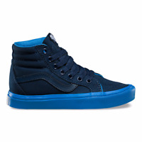 Vans Youth Boys Sk8-Hi Reissue Lite Sneakers Dress Blues/French Blues 11 New