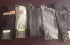 GOLD TOE Men's Dress Socks -  5 Pairs - Assorted - BRAND NEW !