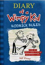 Diary Of A Wimpy Kid Rodrick Rules By Jeff Kinney 2008 Hardcover Book