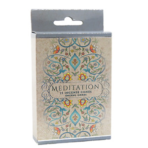 Meditation Incense Cones Home Fragrances Aroma Scent Relaxing Holder Plate Insen