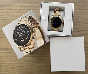 Michael Kors Access Bradshaw 2 - 44mm Gold Stainless Steel Bracelet Smart Watch