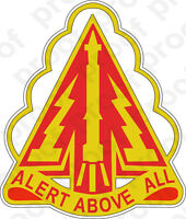 STICKER US ARMY UNIT  Air Defense Command