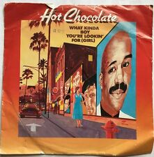 """Hot Chocholate - What Kind of Boy You Looking For (Girl) RAK Records 7"""" Single"""