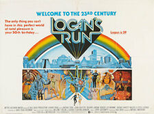 Super 8mm OPTICAL SOUND FEATURE movie LOGANS RUN 2-1200' Michael York