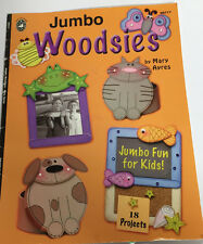Jumbo Woodsies 09717 Fun For Kids 18 Wood Paint Projects Animals Frame Wreath