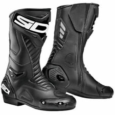 SIDI PERFORMER Black Sports Motorbike Boots Metatarsus Protection