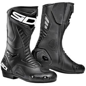SIDI PERFORMER Black Sports Motorbike Boots Metatarsus Protection