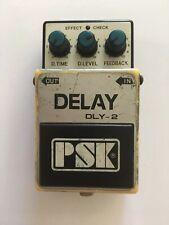 PSK DLY-2 Analog Delay Echo Rare Vintage Guitar Effect Pedal Made In Korea