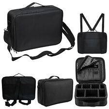COSMETIC ORGANIZER MAKE UP BAG VANITY STORAGE CASE BACK PACK STRIP BEAUTY BOX