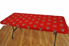 """North Carolina State Wolfpack College Covers 8' Table Cover - 95"""" x 30"""""""