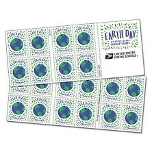 USPS New Earth Day Booklet 0f 20