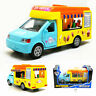 Ice Cream Van Truck 1:32 Scale Model Car Diecast Gift Toy Vehicle Kids Blue