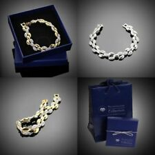 Modeschmuck-Armbänder mit Kristall Knebelverschluss-Legierung