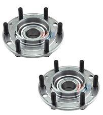 Pair Set of 2 Rear WJB Wheel Bearing & Hub Assies Kit for Hyundai Entourage Kia