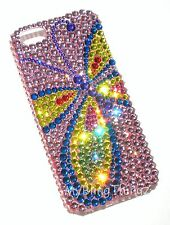XL BUTTERFLY Rhinestone Bling Back Case for iPhone 5 5S w/ Crystal by Swarovski