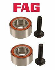 For Audi A4 Quattro 02-08 Pair Set of 2 Rear Wheel Bearign Kits FAG 8E0-598-625