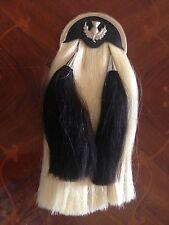 NEW Long Vintage Military Horse hair sporran