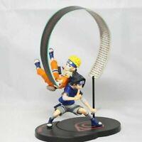 UZUMAKI NARUTO UCHIHA SASUKE SHIPPUDEN ANIME PVC Action Figure Toy Gift GEM
