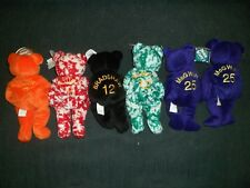 Salvino's Bammers Sports Beanie Bears Lot of 6 Bears