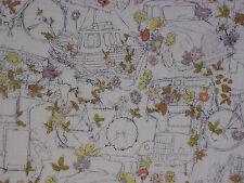 "LIBERTY OF LONDON TANA LAWN FABRIC DESIGN ""Travelling Threads"" 2 METRES (200 CM)"