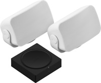 Sonance Outdoor Exterior Speakers Pair & Sonos amp kit (sonus)