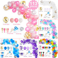113 Pieces Party Balloon Garland Arch Birthday Wedding Baby Shower Home Decor