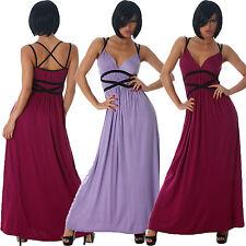 Damenkleider mit Trägern ohne Muster für Cocktail-Anlässe