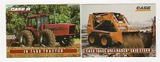 1995 CASE IH 7488 tractor, uni-loader, 2 collector/trading cards, #C11 - #C12