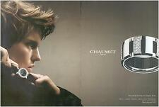 ▬► PUBLICITE ADVERTISING AD Montre Watch BIJOU CHAUMET Collection Class One 2005