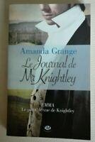 Le journal de Mr Knightley de Grange, Amanda |français neuf