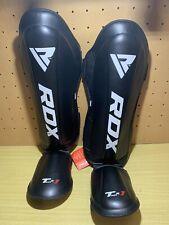 RDX T1R Gel Shin Instep Guards Foot Pads MMA Boxing Muay Thai XL Leg Kick