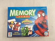 2006 Milton Bradley MARVEL SPIDER-MAN & FRIENDS MEMORY GAME Boys & Girls Age 3+
