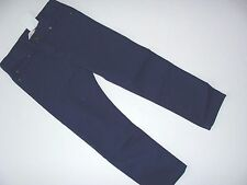 H&M Colored Navy Jeans Adjustable Waist Denim Boys Boy Size 4-5 Years NWT