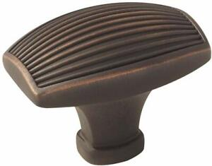 Sea Grass 1-1/2 in. (38mm) Length Knob - Oil-Rubbed Bronze - Brown