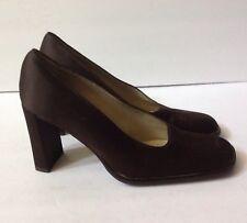 Kenneth Cole New York Women's Brown Canvas Heel  Shoe  Italy  Sz 38